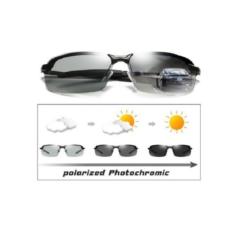 Gafas De Sol Para Hombre Fotocromáticas UV400 100% Originales 151c6c49fc